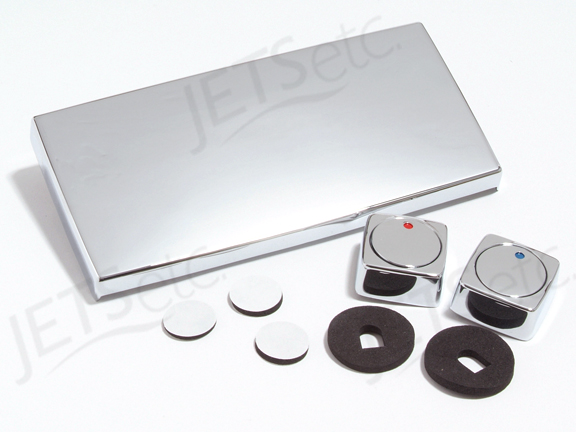 Faucet Cover Kit Chrome T581827 Discontinued